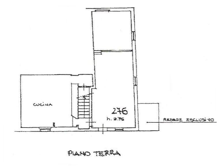 Planimetria 1/2 per rif. 8969