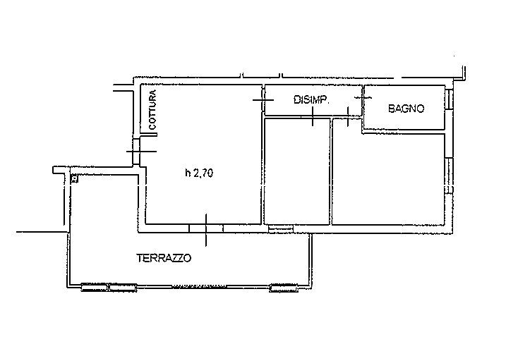 Planimetria 2/3 per rif. 7152
