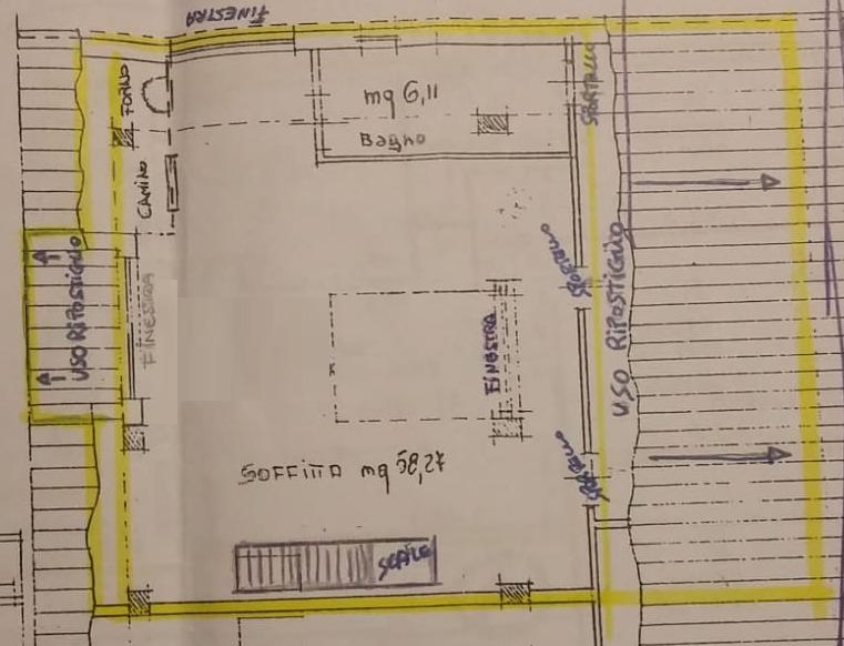 Planimetria 2/3 per rif. 8982