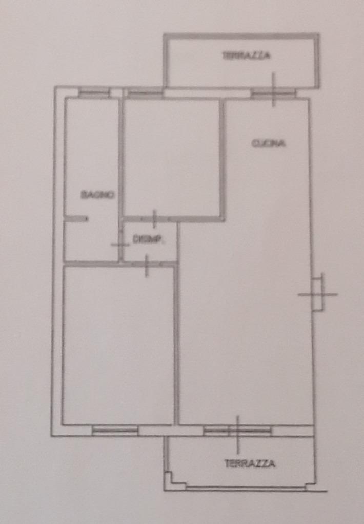 Planimetria 1/3 per rif. 8984