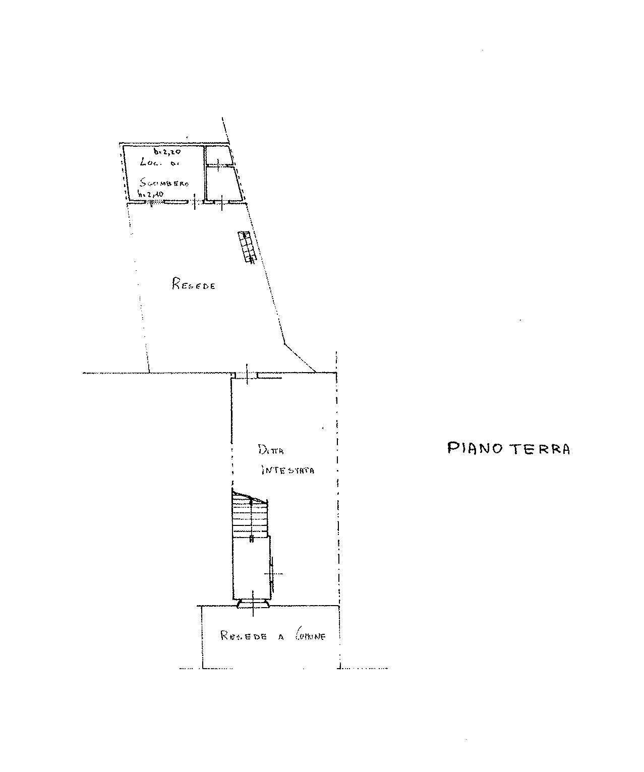 Planimetria 2/3 per rif. 8985