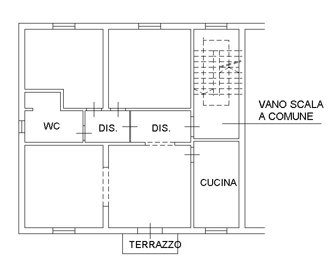 Planimetria 2/2 per rif. 8991