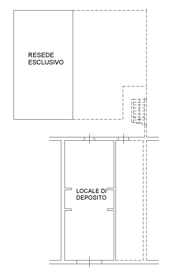 Planimetria 1/2 per rif. 8991-02