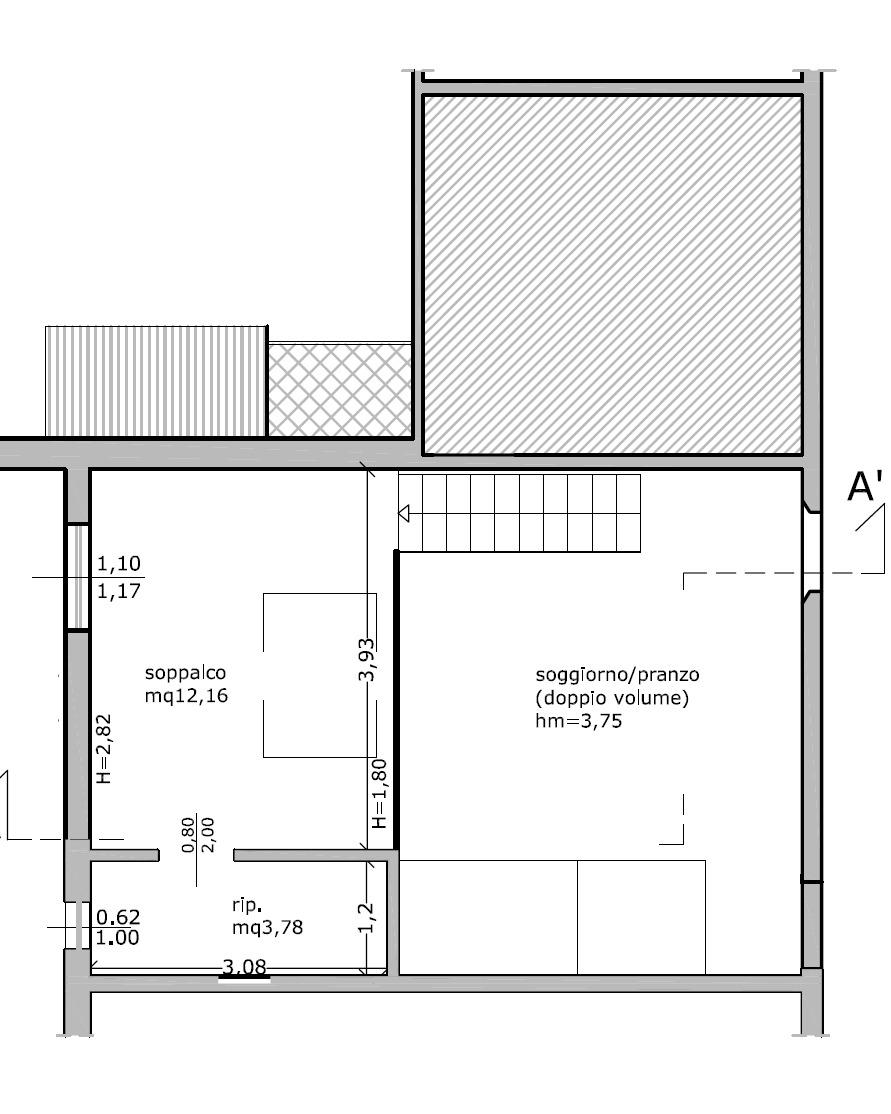 Planimetria 2/2 per rif. 8996
