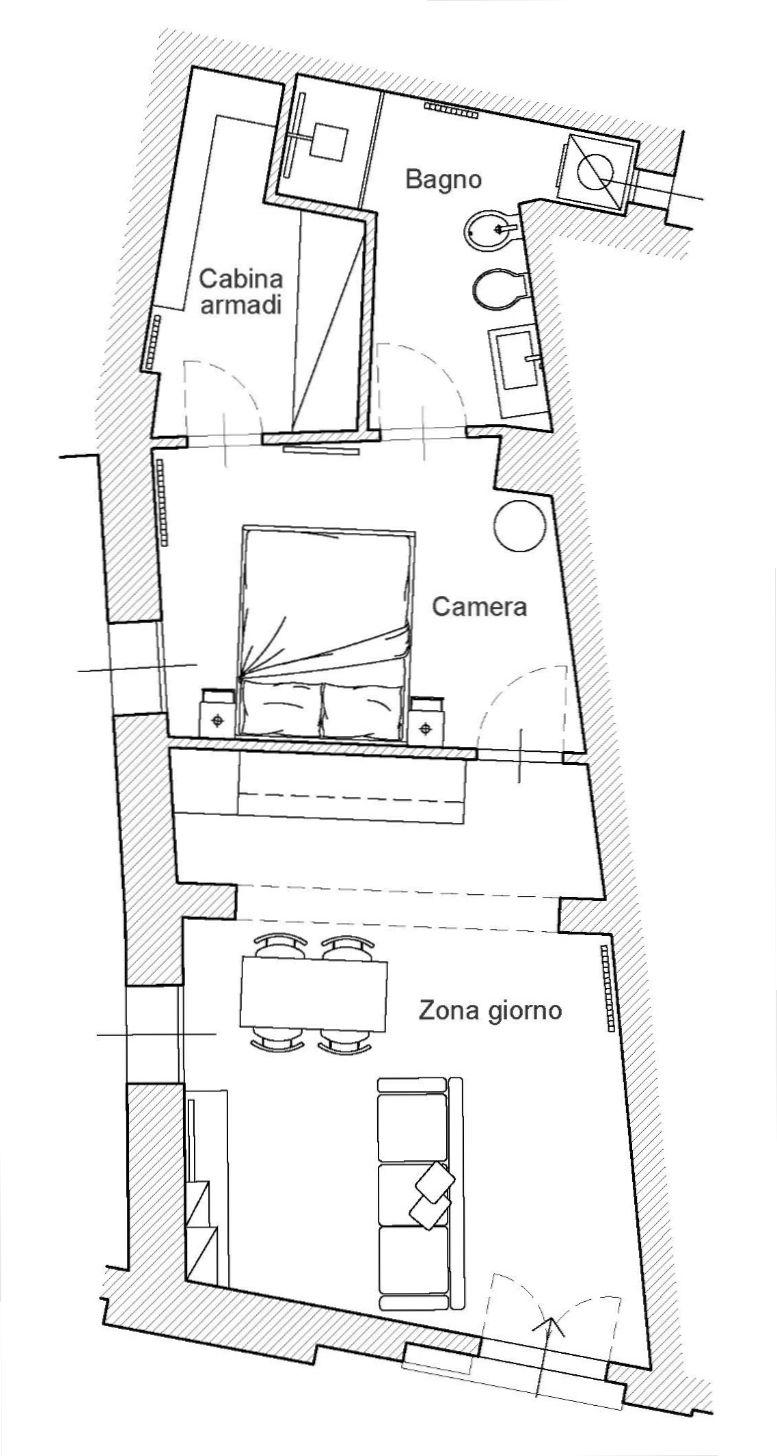 Planimetria 1/2 per rif. 8999