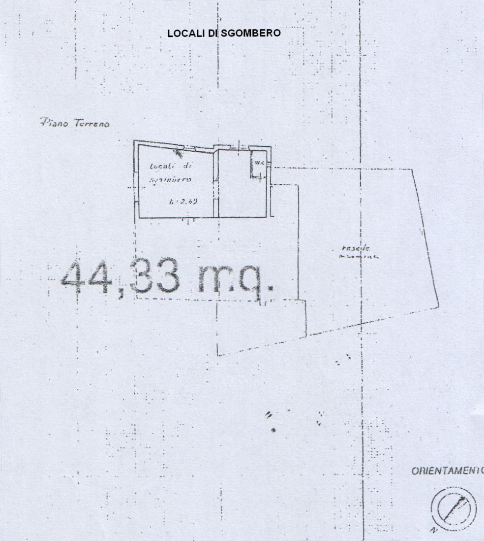 Planimetria 2/4 per rif. 8125-02