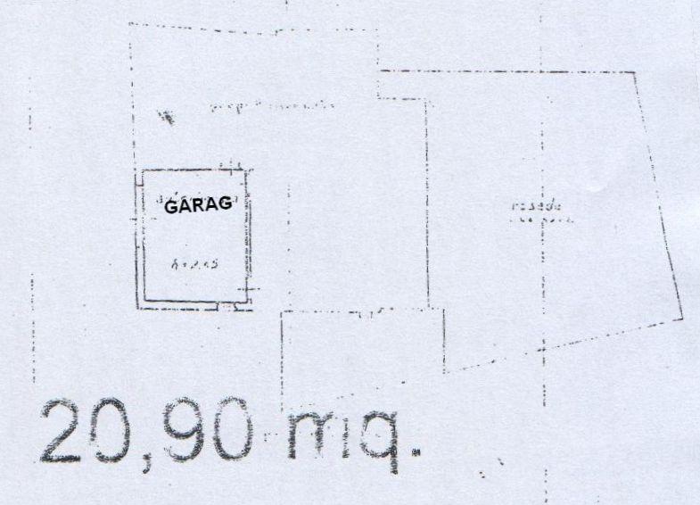 Planimetria 3/4 per rif. 8125-02