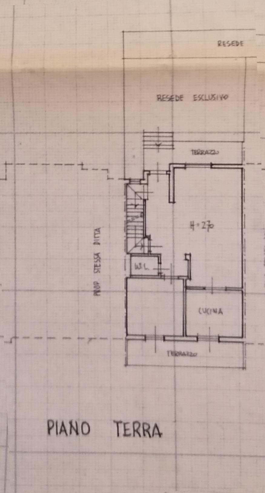 Planimetria 1/4 per rif. 9004