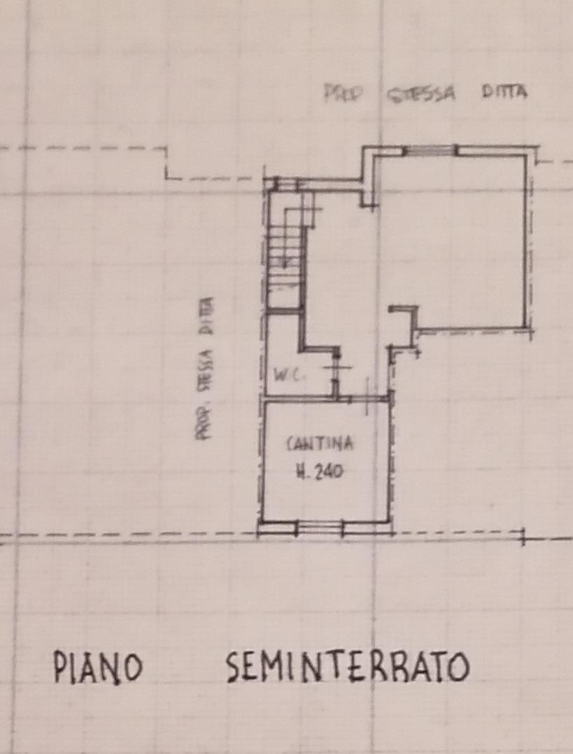 Planimetria 3/4 per rif. 9004