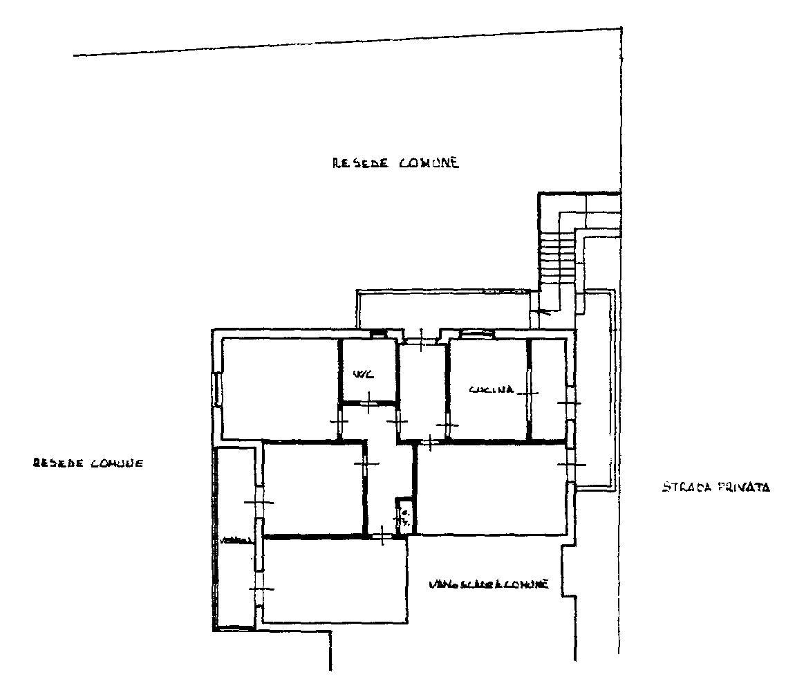 Planimetria 1/2 per rif. 9010
