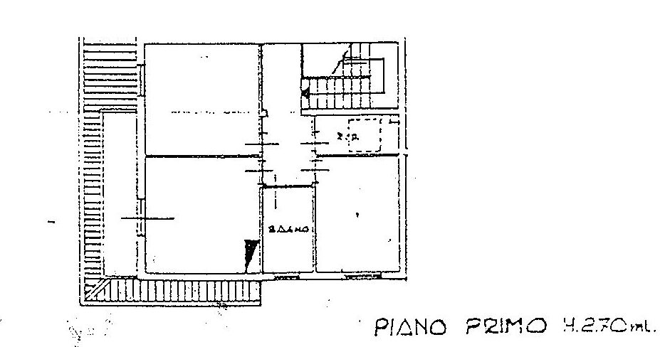 Planimetria 3/5 per rif. 9016