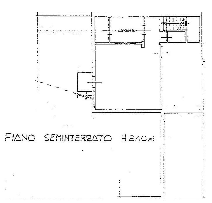 Planimetria 4/5 per rif. 9016