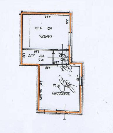 Planimetria 1/2 per rif. 9018