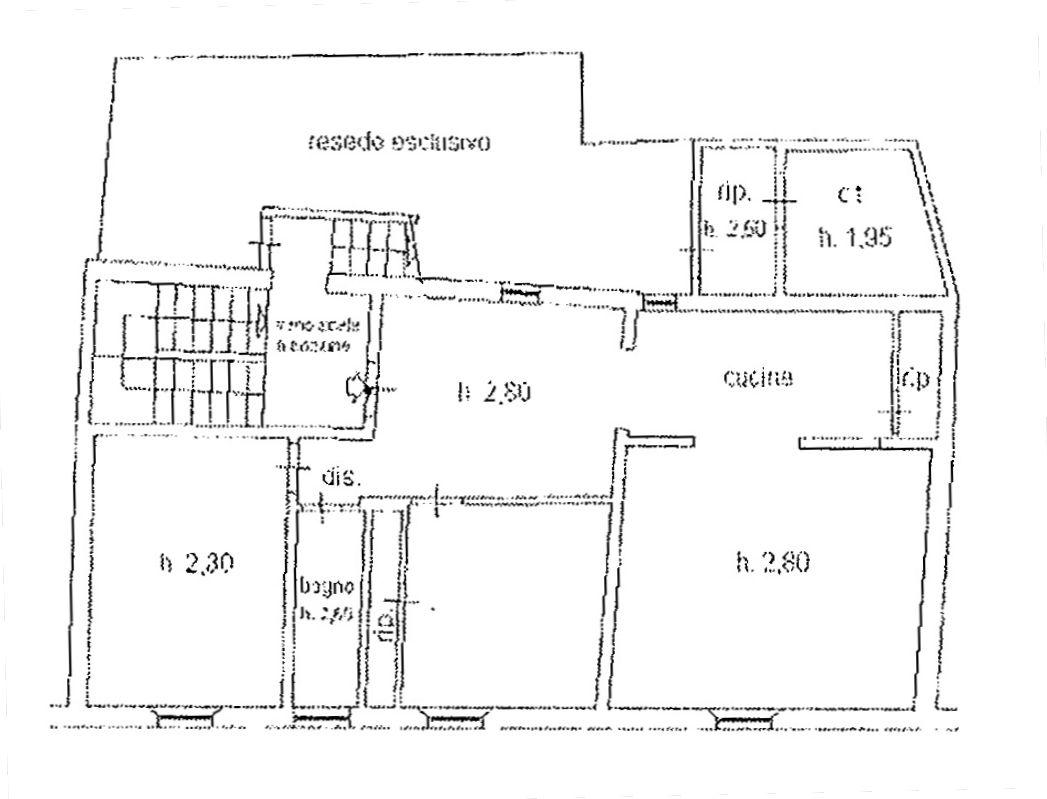 Planimetria 1/3 per rif. 9024