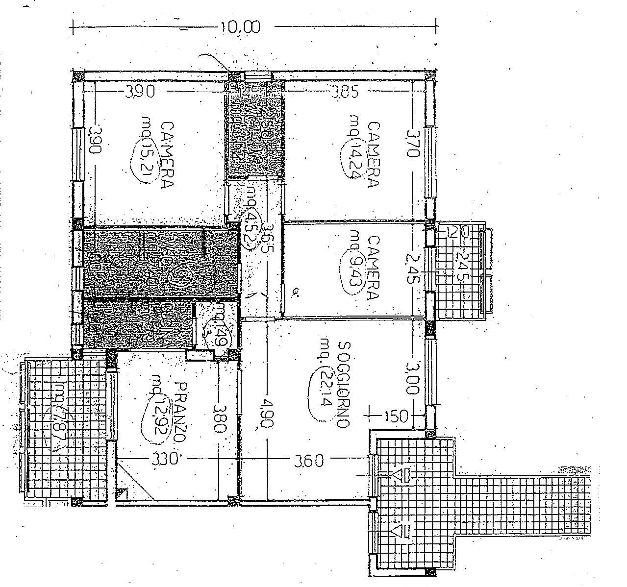 Planimetria 1/2 per rif. 9027