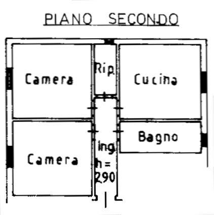 Planimetria 1/2 per rif. 9034