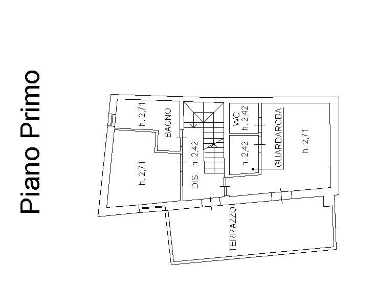 Planimetria 2/4 per rif. 9041