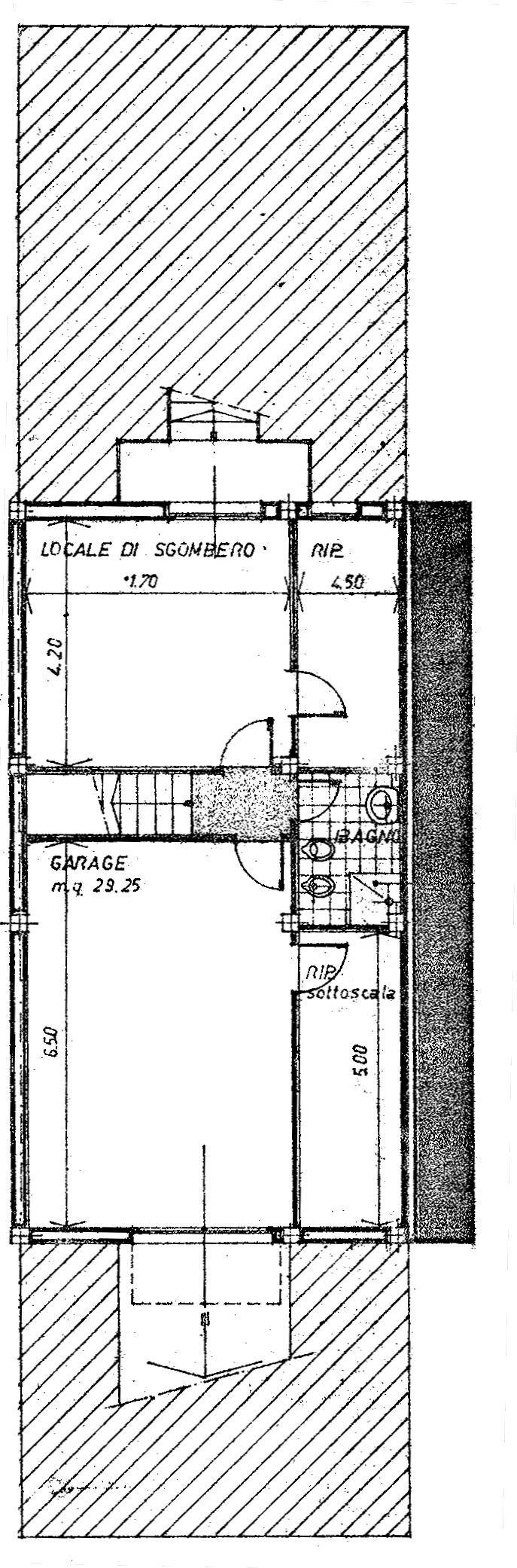 Planimetria 1/5 per rif. 9045