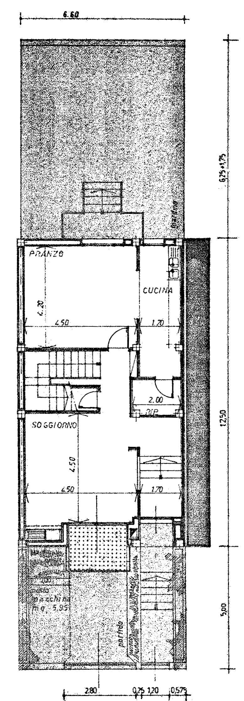 Planimetria 2/5 per rif. 9045