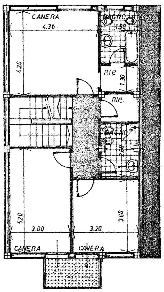Planimetria 3/5 per rif. 9045