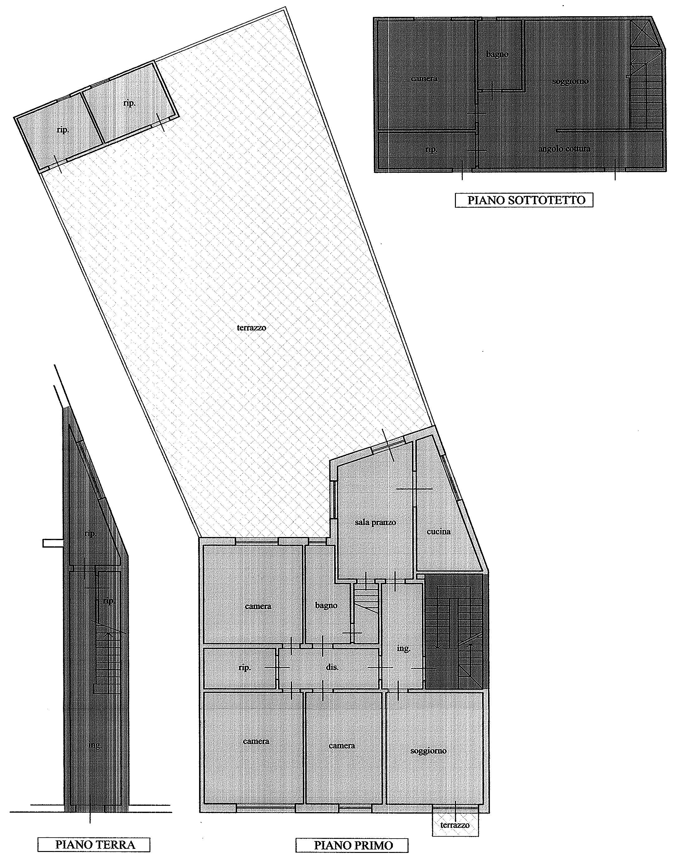Planimetria 1/1 per rif. 9049
