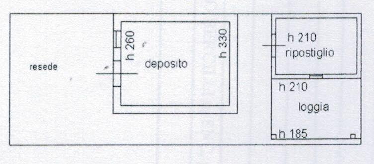 Planimetria 2/3 per rif. 9050