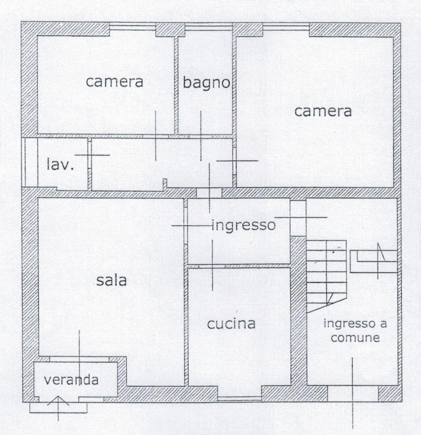 Planimetria 1/3 per rif. 9050