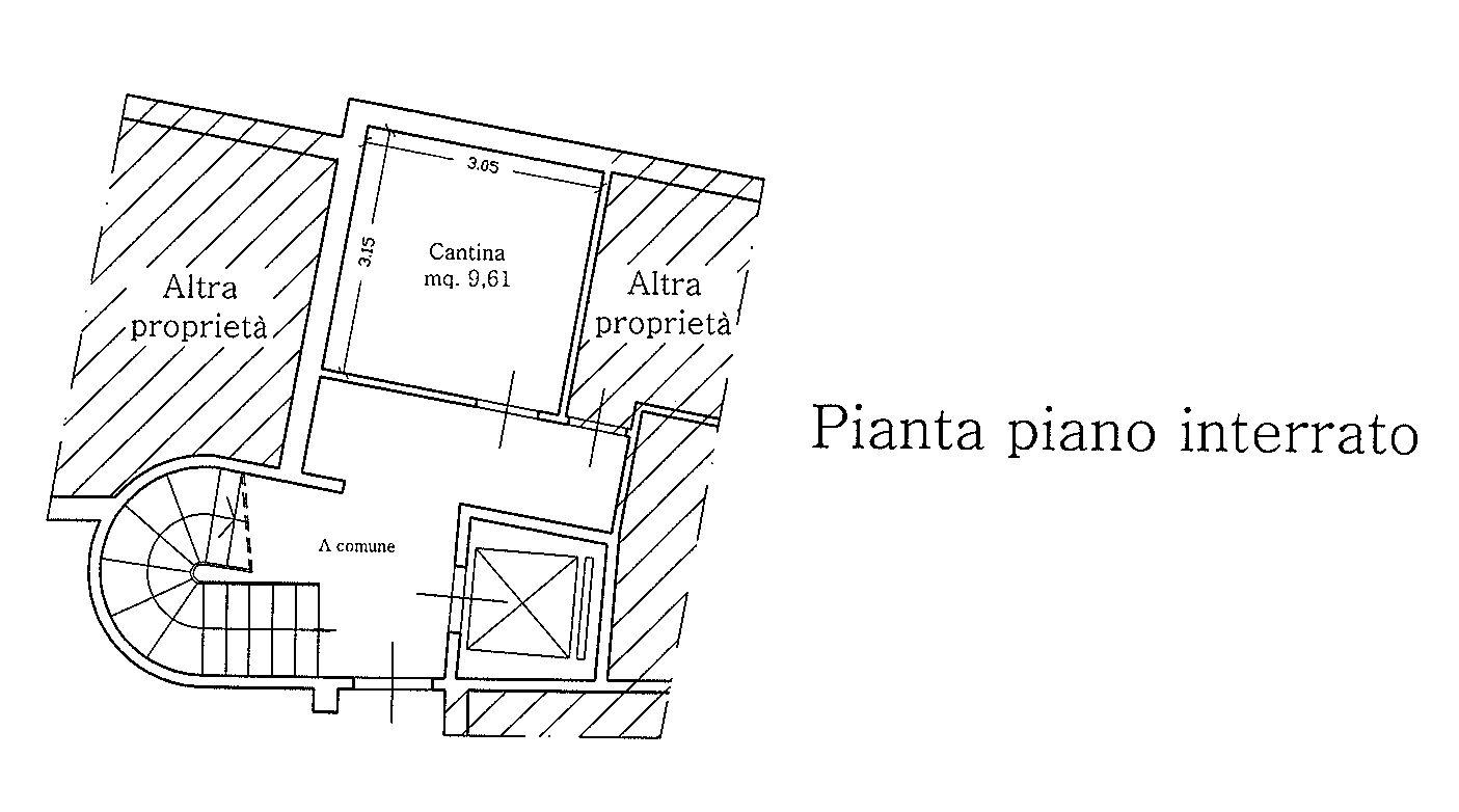Planimetria 2/3 per rif. 9053