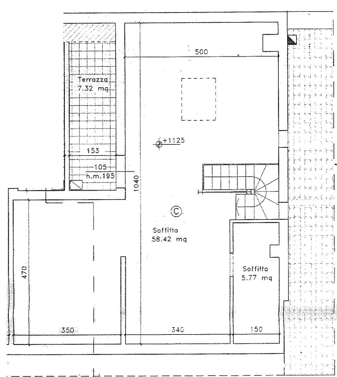 Planimetria 2/2 per rif. 9052