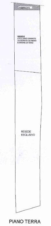 Planimetria 3/4 per rif. 9054