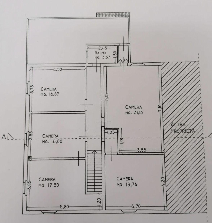 Planimetria 2/4 per rif. 9054