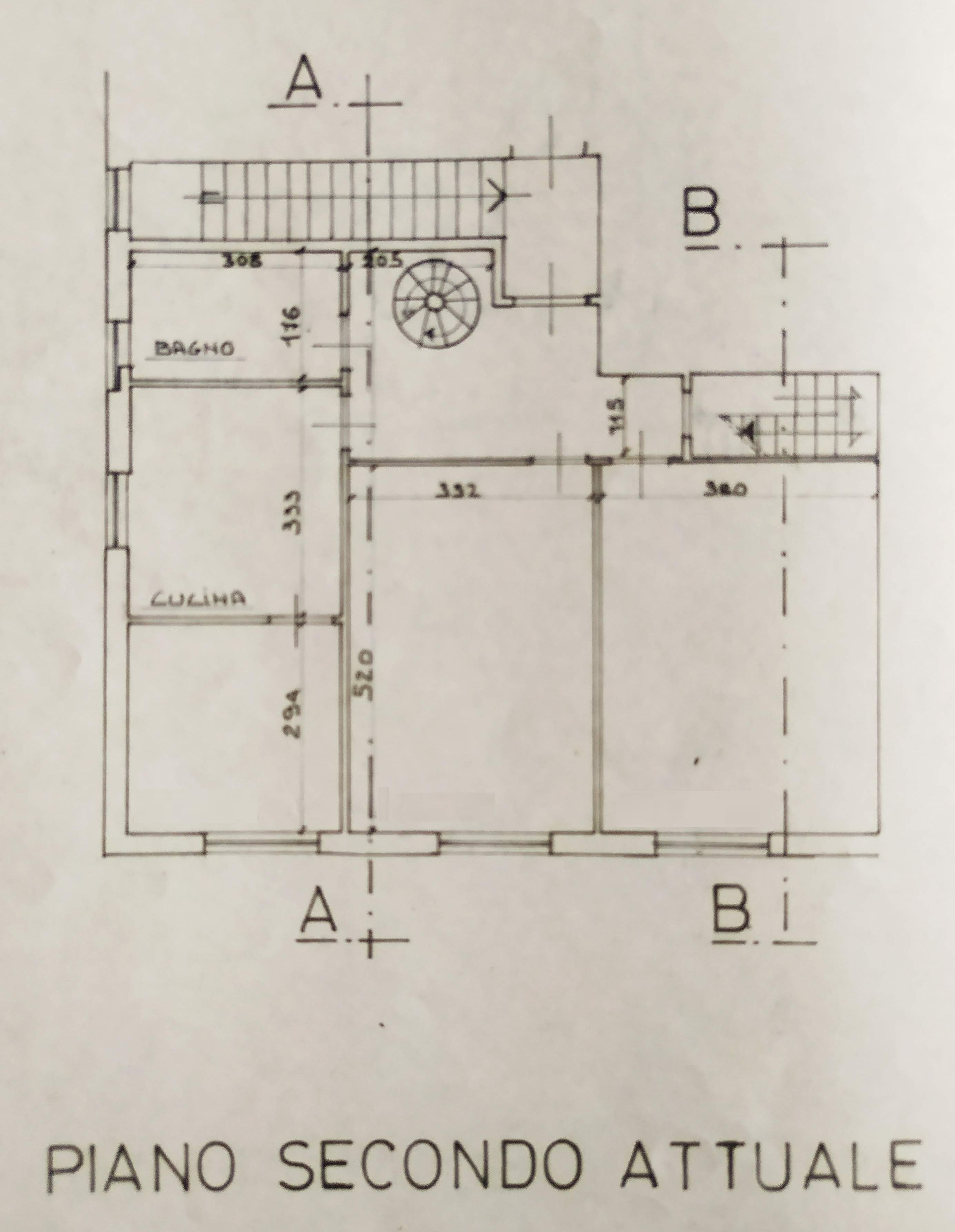 Planimetria 1/2 per rif. 9057