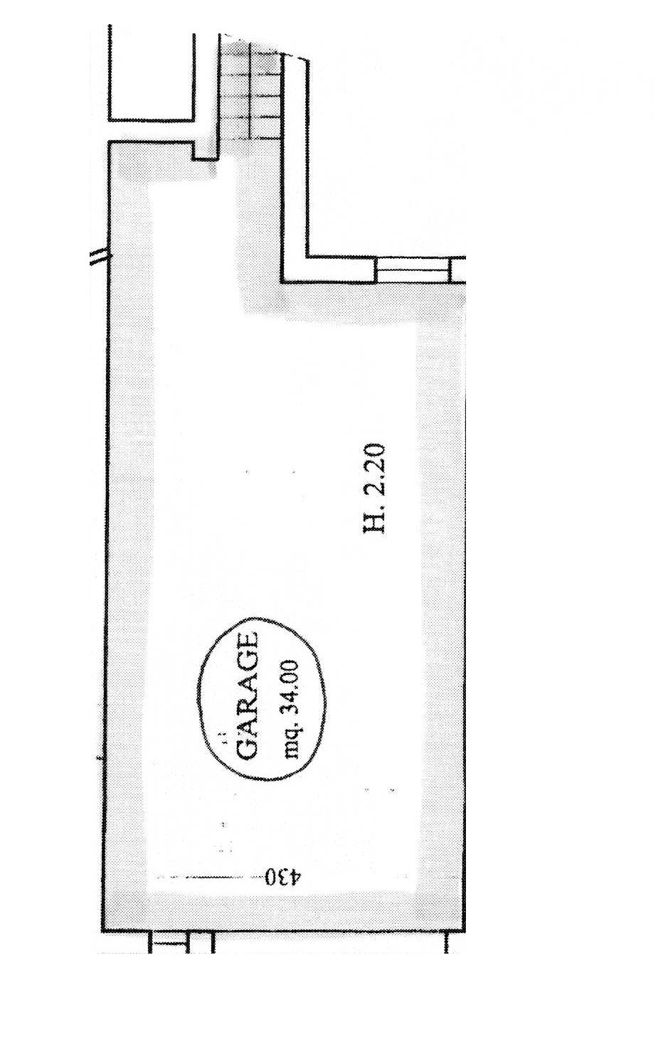 Planimetria 2/2 per rif. 9059