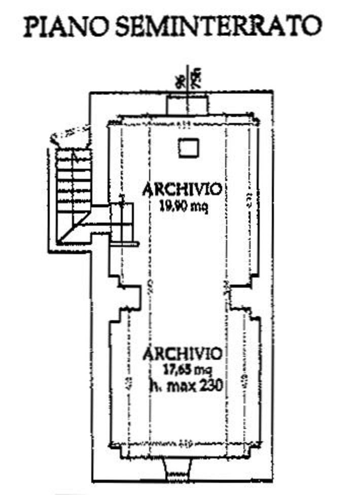 Planimetria 2/2 per rif. 9062