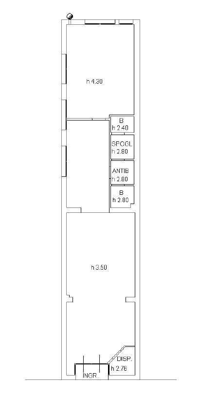 Planimetria 2/2 per rif. 601