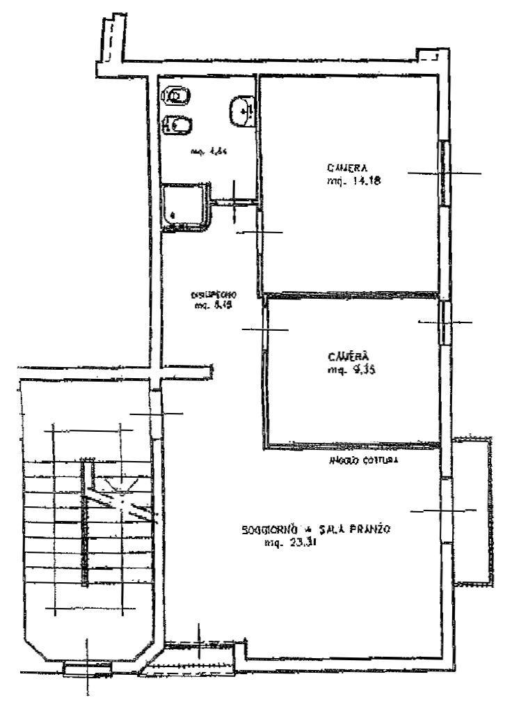 Planimetria 1/2 per rif. 8574-03