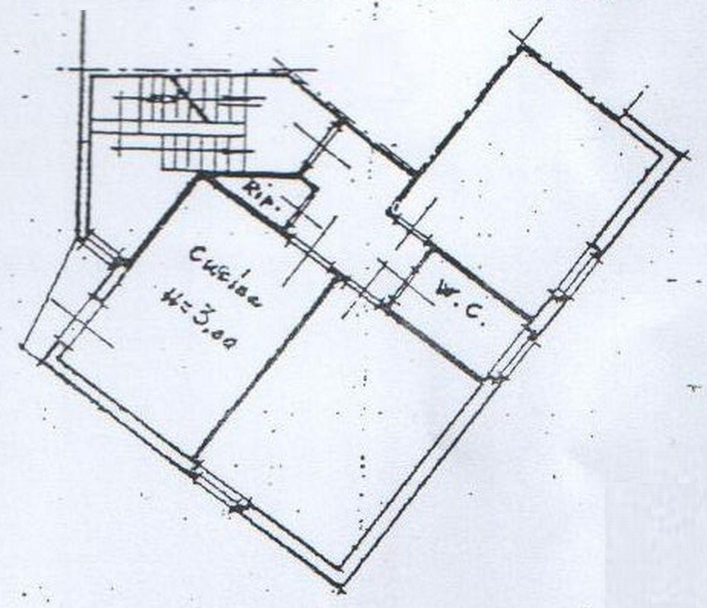 Planimetria 1/2 per rif. 7578-02
