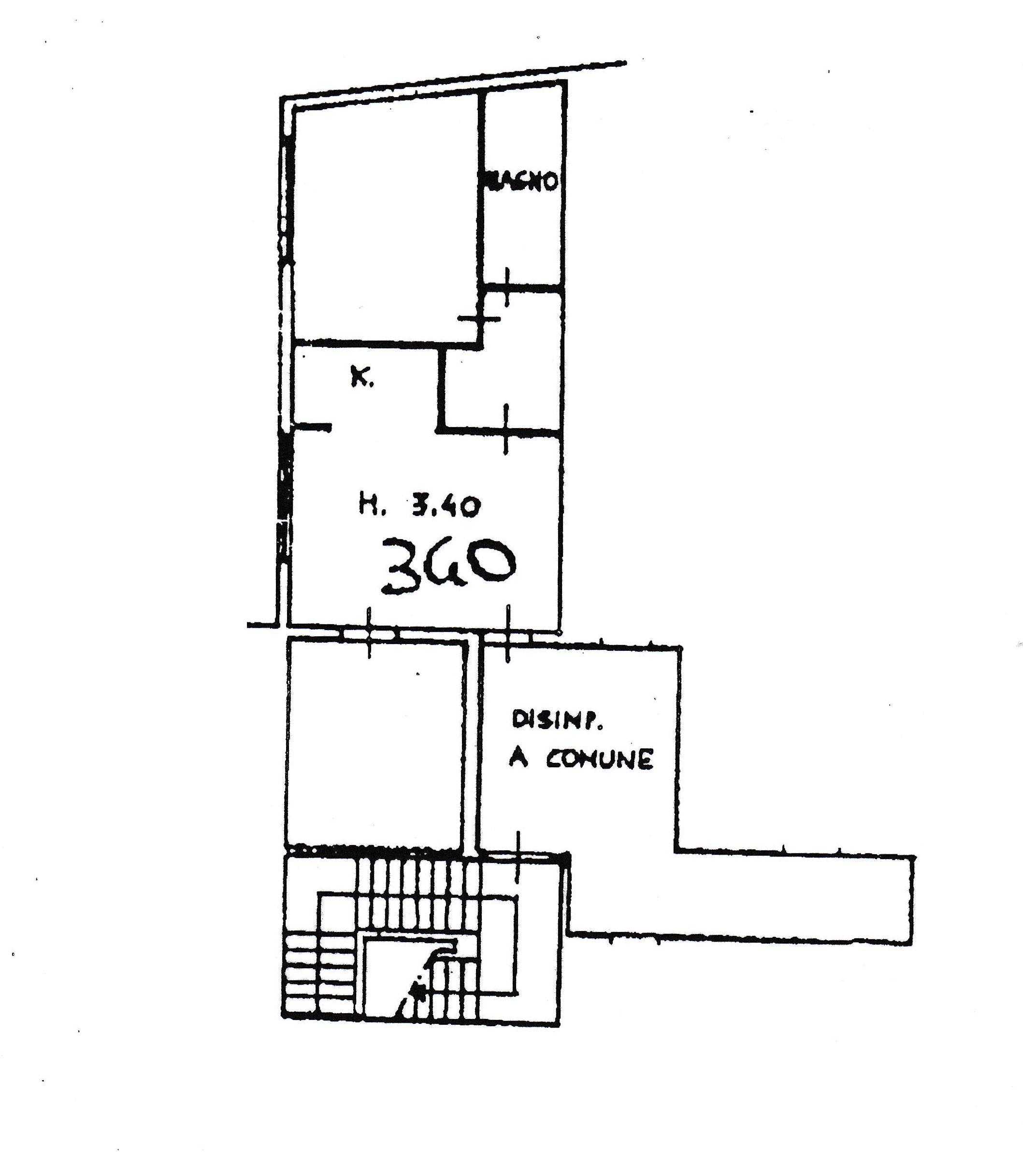 Planimetria 1/2 per rif. 5476-02