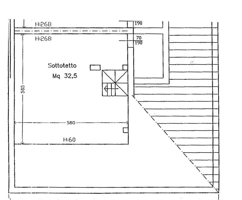 Planimetria 2/3 per rif. 9066