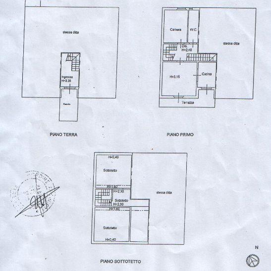 Planimetria 2/2 per rif. 2639