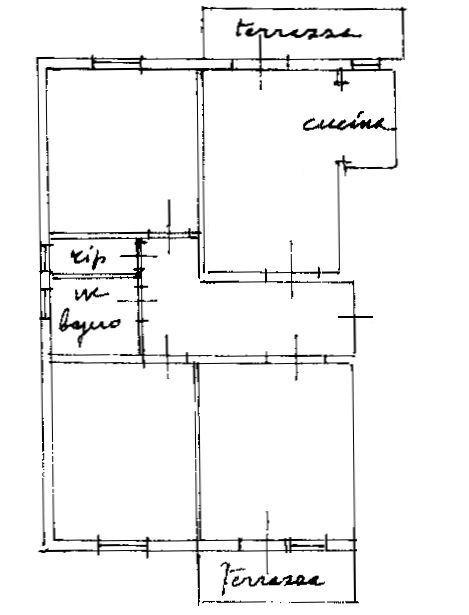 Planimetria 1/3 per rif. 9069