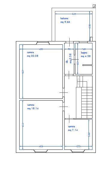 Planimetria 2/3 per rif. 9070