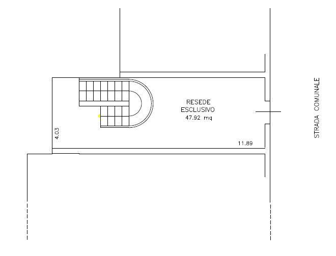 Planimetria 4/6 per rif. 9071