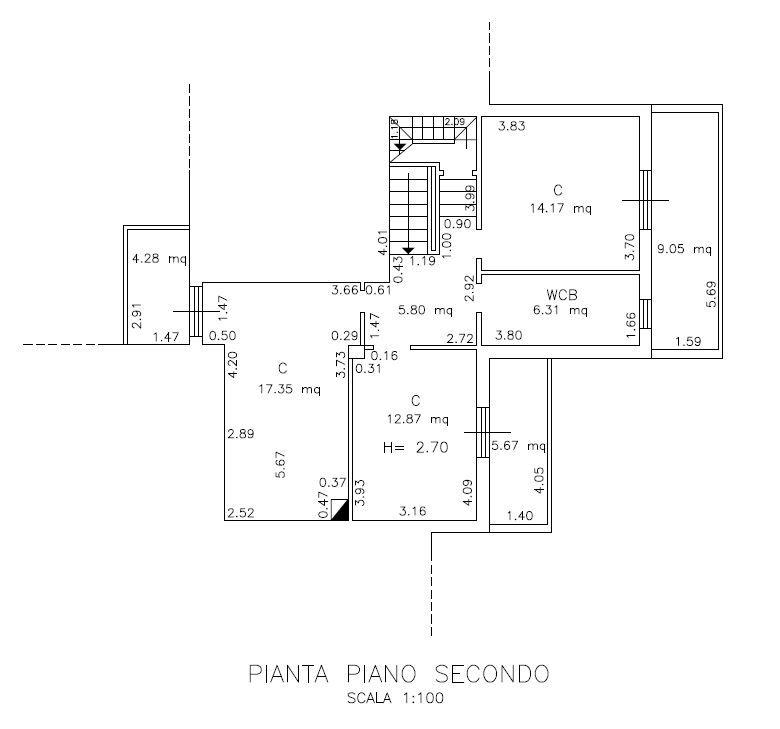 Planimetria 2/6 per rif. 9071
