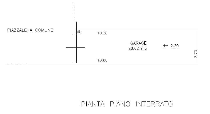 Planimetria 5/6 per rif. 9071