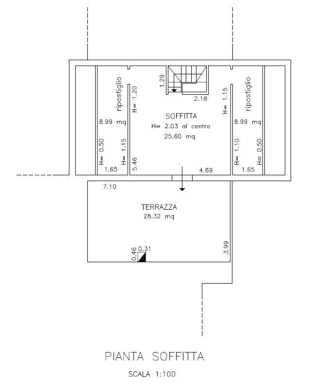 Planimetria 3/6 per rif. 9071