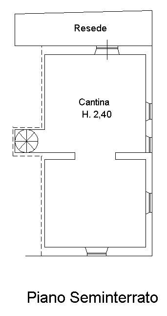 Planimetria 2/2 per rif. 9073