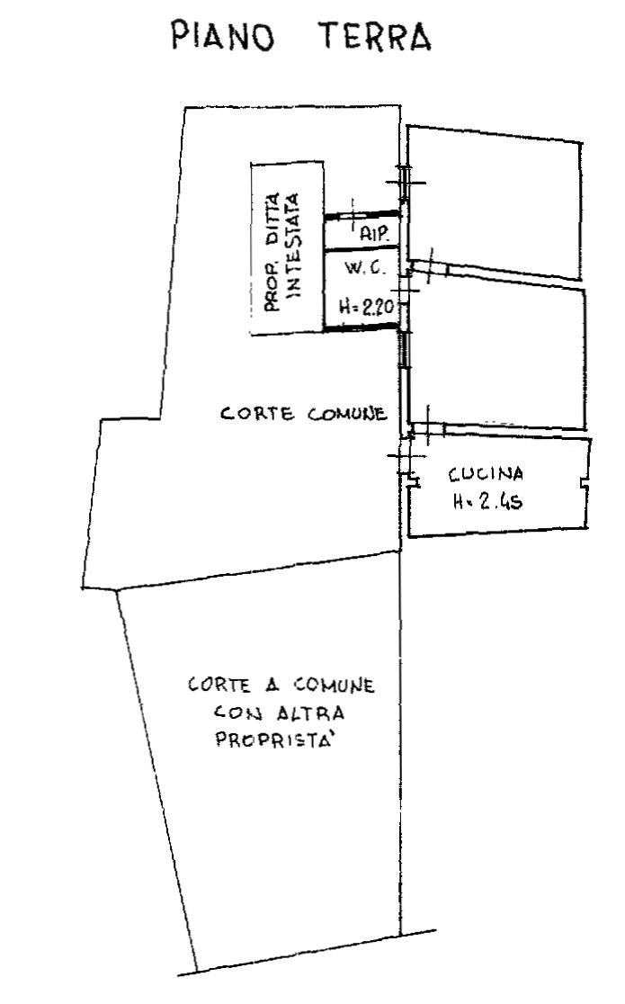 Planimetria 1/2 per rif. 9072-02
