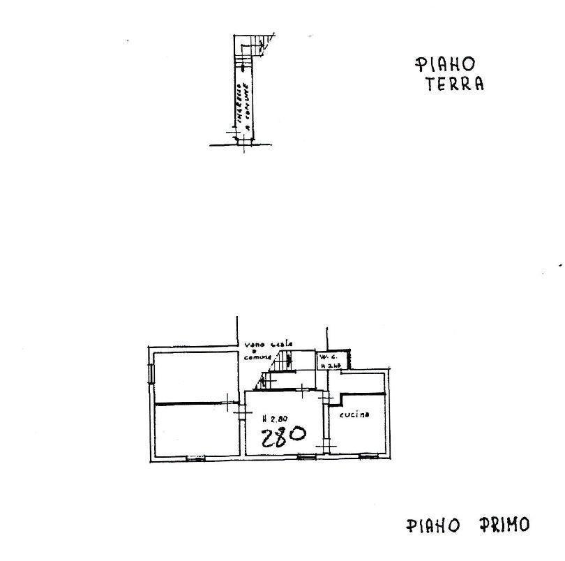 Planimetria 2/3 per rif. 9077
