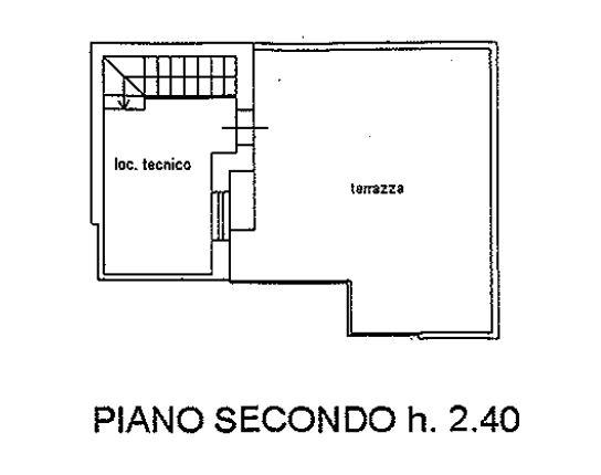 Planimetria 3/4 per rif. 9075